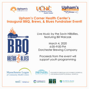 UCHC's Inaugural BBQ, Brews, and Blues Fundraiser Event @ Dorchester Brewing Company